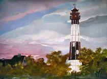 Leuchtturm auf Fehmarn von Bärbel Knees