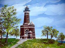 Leuchtturm Kiel- Holtenau von Bärbel Knees