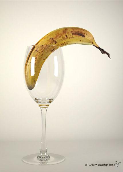 Banana-in-glas1