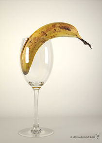 Banana in glass1 von Joakim Eklund