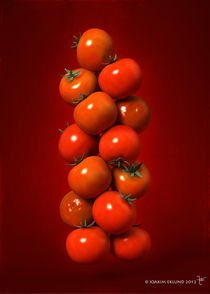 Tomatoes in air1. von Joakim Eklund