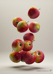 Flying Apples1 by Joakim Eklund
