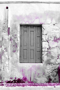Cretan door no.2a by Pia Schneider