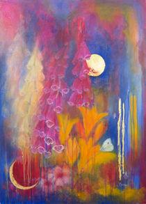 Goldene Stunde im Garten von Angelika Bardili