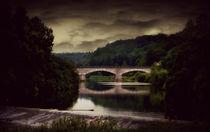 Brücke über die Lahn von Elke Balzen