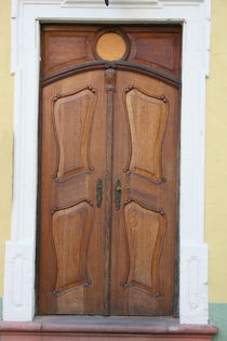 Holztür  Wooden door by hadot