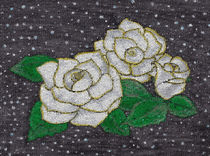White Roses by Dragica Ohashi