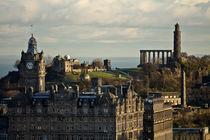 Edinburgh Blick vom Castle von Jürgen Creutzburg