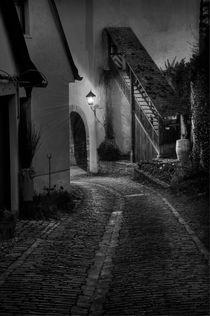 Sulzfeld bei Nacht von Irmgard Sell