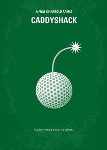 No013 My Caddyshack minimal movie poster von chungkong