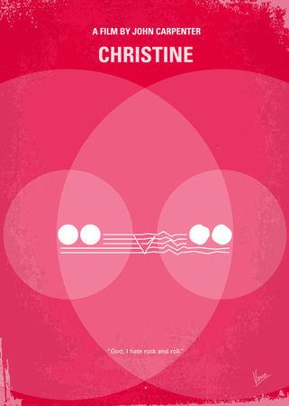 No016-my-christine-minimal-movie-poster