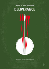 No020 My Deliverance minimal movie poster by chungkong