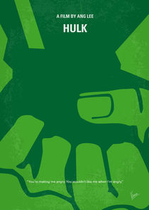 No040 My HULK minimal movie poster  von chungkong