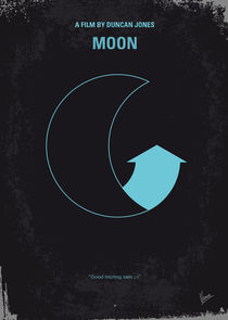 No053 My Moon 2009 minimal movie poster von chungkong
