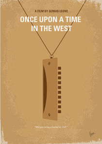No059 My once upon a time in the west minimal movie poster von chungkong