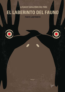 No061 My Pans Labyrinth minimal movie poster von chungkong