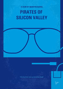No064 My Pirates of Silicon Valley minimal movie poster von chungkong