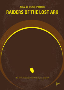 No068 My Raiders of the Lost Ark minimal movie poster von chungkong