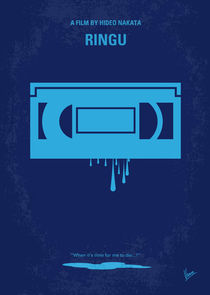 No070 My Ringu minimal movie poster von chungkong