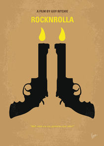 No071 My Rocknrolla minimal movie poster von chungkong
