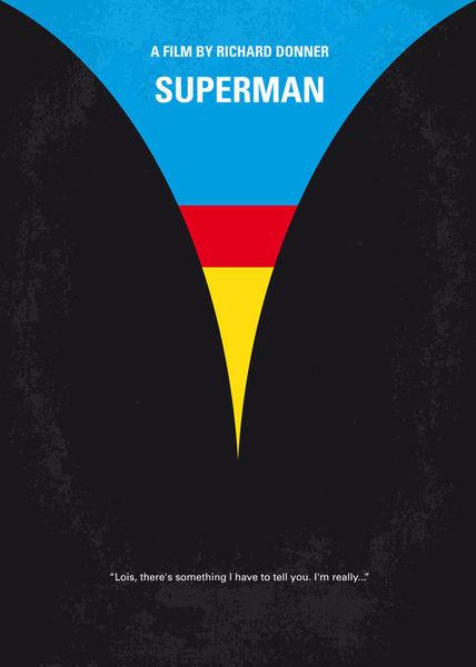 No086-my-superman-minimal-movie-poster