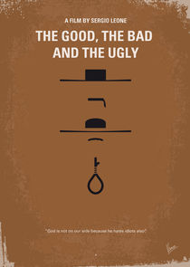 No090 My The Good The Bad The Ugly minimal movie poster by chungkong