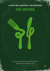 No093 My The Matrix minimal movie poster von chungkong