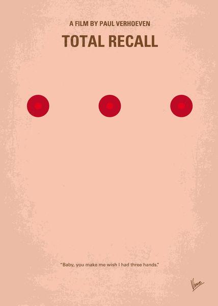 No097-my-total-recall-minimal-movie-poster