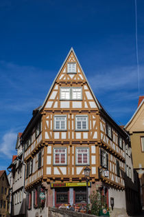 Half-timbered House in Esslingen von safaribears