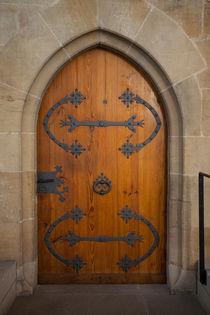 Door in the church St. Paul by safaribears