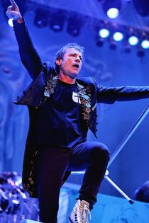 Iron Maiden:  Bruce Dickinson