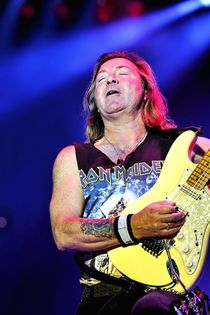 Iron Maiden: Dave Murray I
