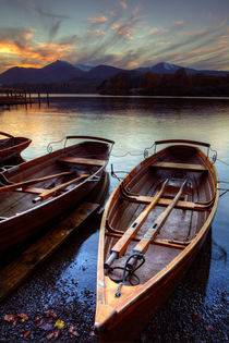 Derwent Water Sunset von Martin Williams