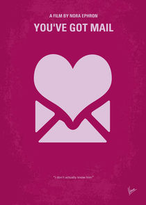No107 My Youve Got Mail minimal movie poster von chungkong