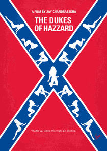 No108 My The Dukes of Hazzard minimal movie poster by chungkong