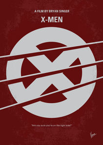 No123 My Xmen minimal movie poster von chungkong