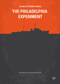 No126 My The Philadelphia Experiment minimal movie poster von chungkong