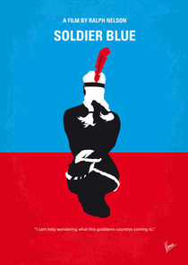 No136 My SOLDIER BLUE minimal movie poster von chungkong