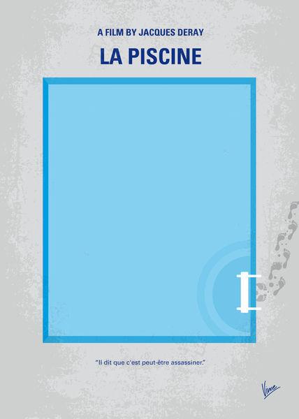 No137-my-la-piscine-minimal-movie-poster