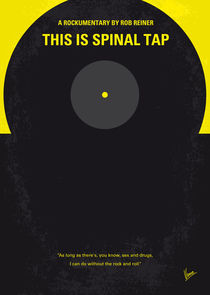No143 My This Spinal Tap minimal movie poster by chungkong