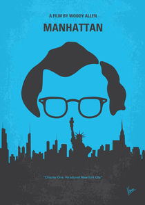 No146 My Manhattan minimal movie poster von chungkong
