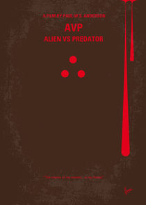 No148 My AVP minimal movie poster von chungkong