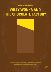 No149 My willy wonka and the chocolate factory minimal movie poster by chungkong