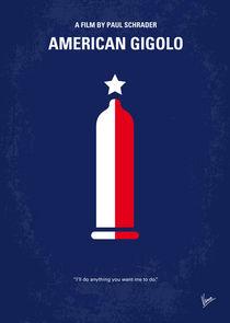 No150 My American Gigolo minimal movie poster von chungkong