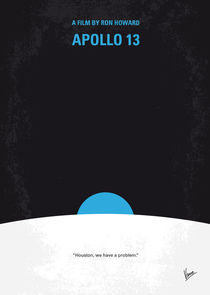 No151 My Apollo 13 minimal movie poster von chungkong