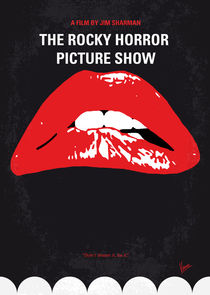 No153 My The Rocky Horror Picture Show minimal movie poster von chungkong