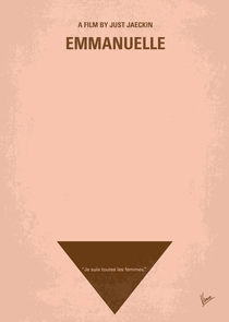 No160 My Emmanuelle minimal movie poster von chungkong