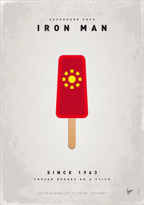 My SUPERHERO ICE POP - Iron Man von chungkong