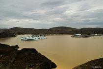 bottom of a glacier - Islanda 2012 by Federico C.
