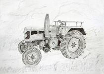 Oldtimer Trecker - old tractor von ropo13